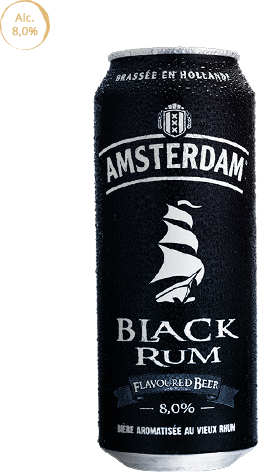 Amsterdam Black Rum - Bière hollandaise