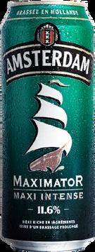 Bière Amsterdam Maximator en cannette de 50cl - 11,6° d'alcool