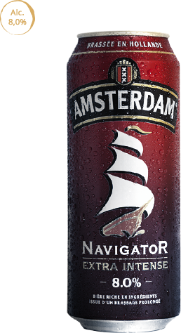 Amsterdam Navigator, une bière au goût intense et aux arômes fruités