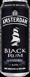 Bière Amsterdam Black Rum, l'aromatisée de la gamme